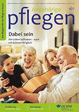 Zeitschrift Angehörige pflegen