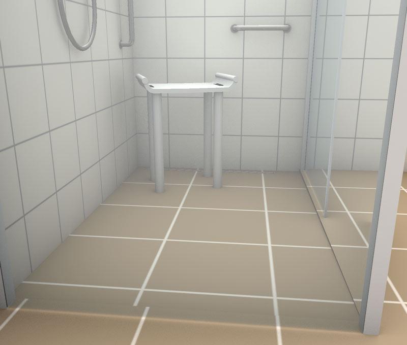 Rutschhemmung im Duschbereich