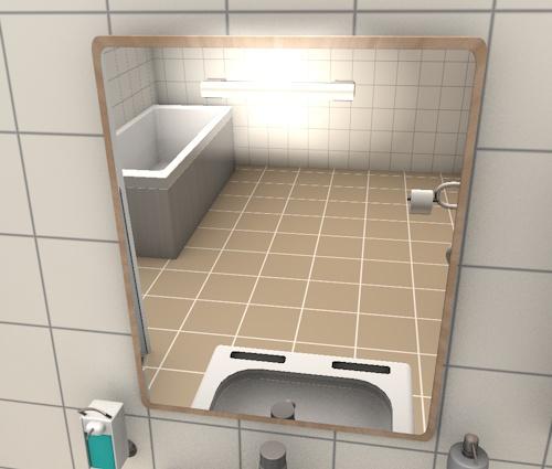 Arbeitslicht – Badezimmer
