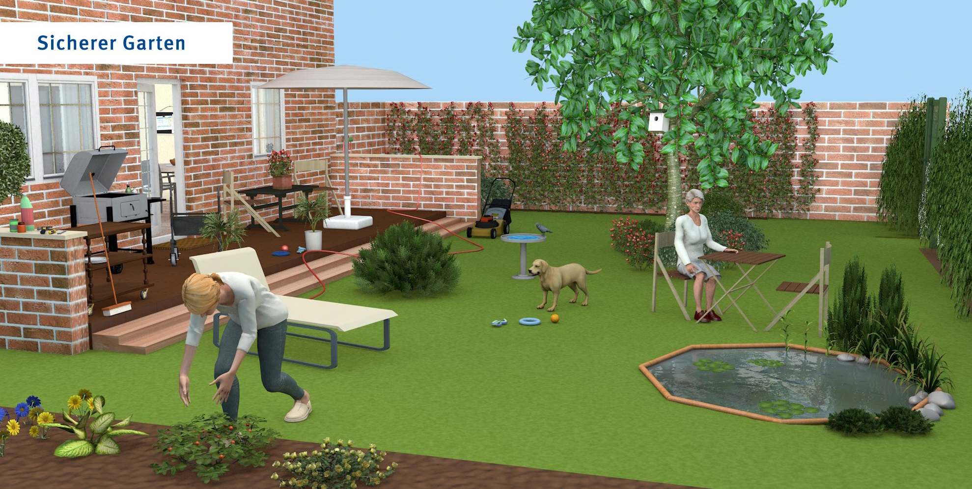 Garten - übliche Version