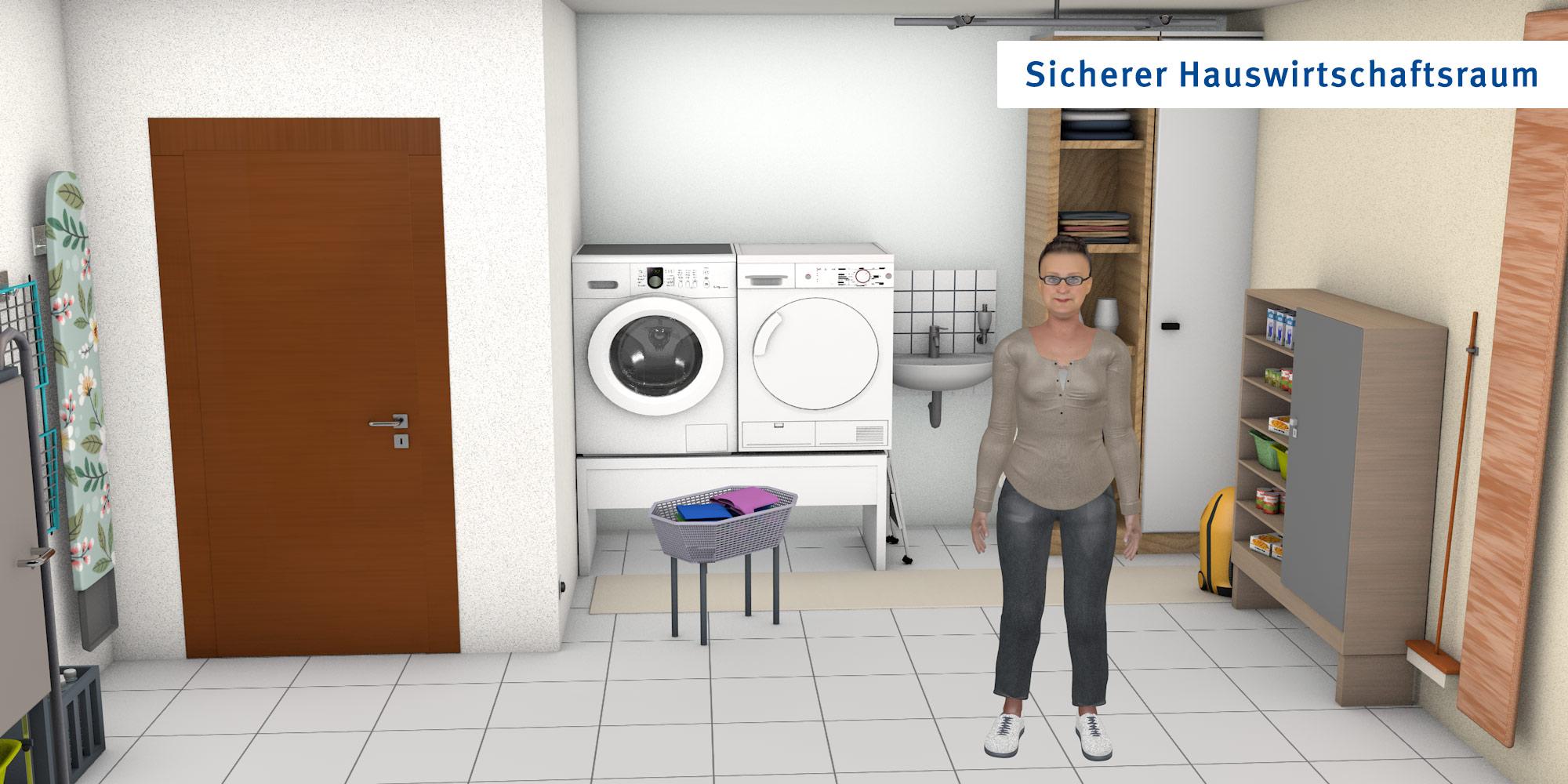 Hauswirtschaftsraum - optimierte Version