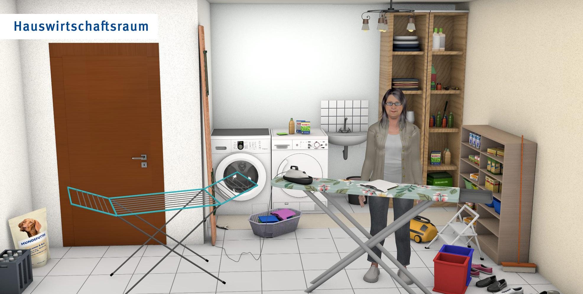 Hauswirtschaftsraum - übliche Version