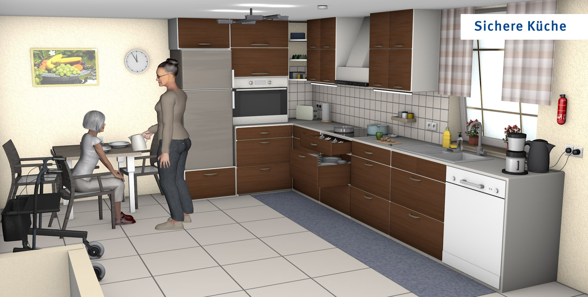 Küche - optimierte Version