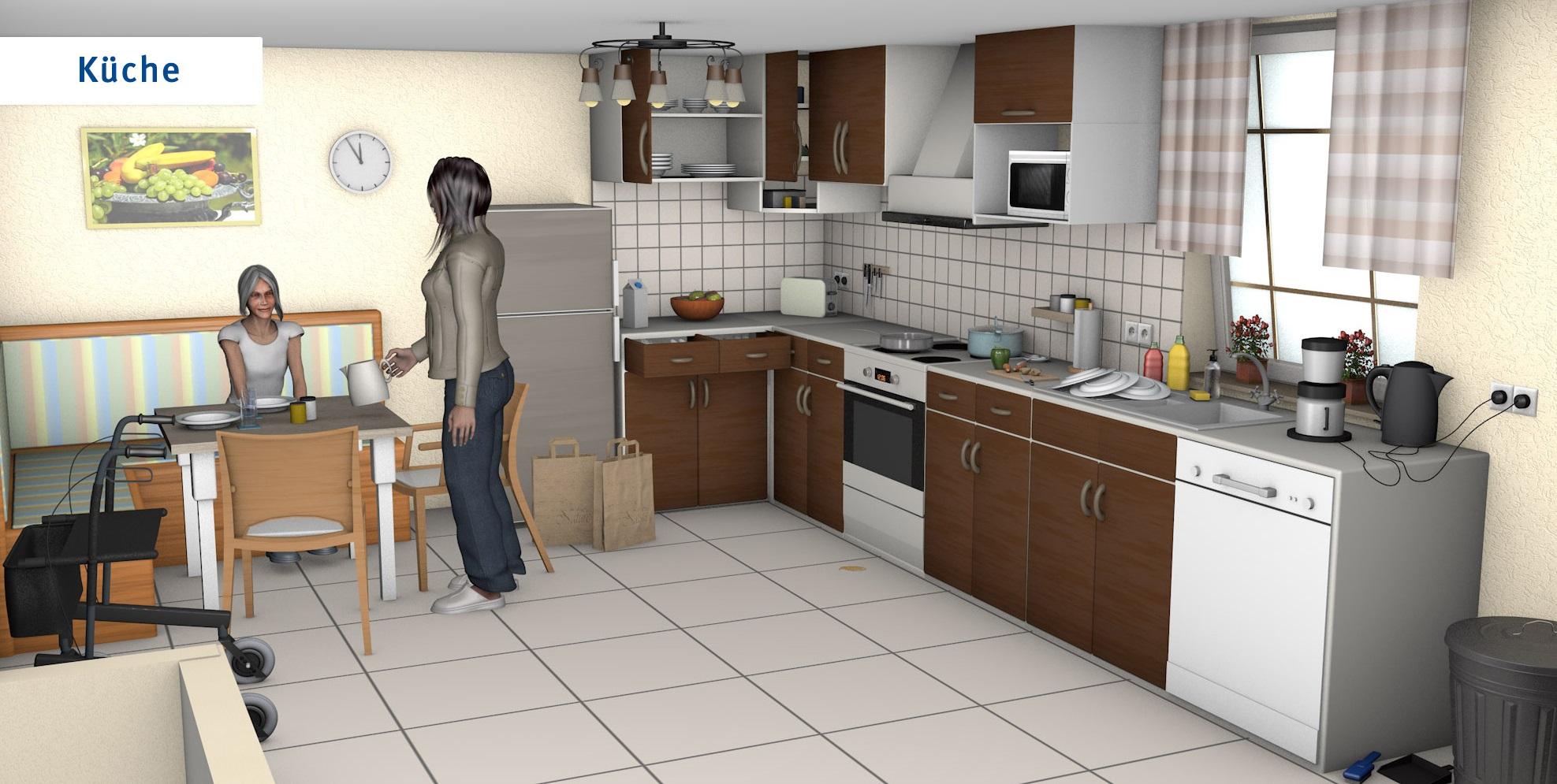 Küche - übliche Version