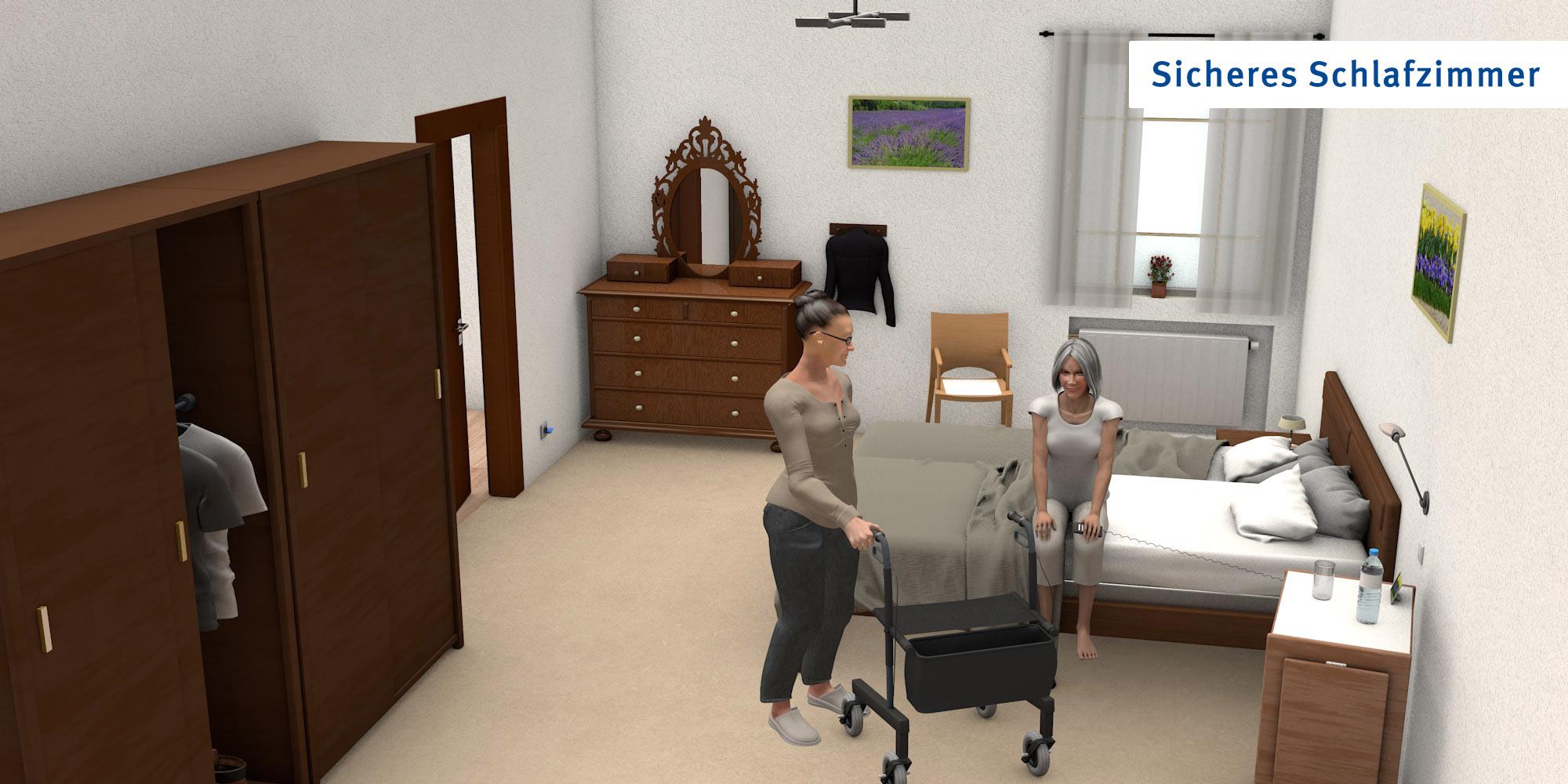 Schlafzimmer - optimierte Version
