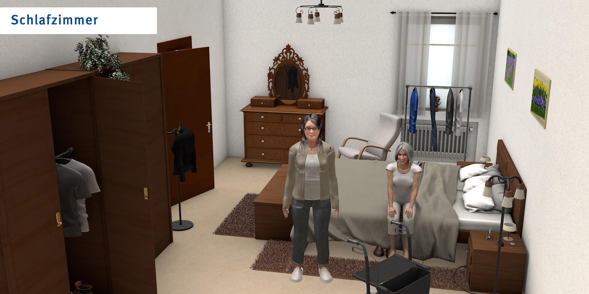 Schlafzimmer - übliche Version