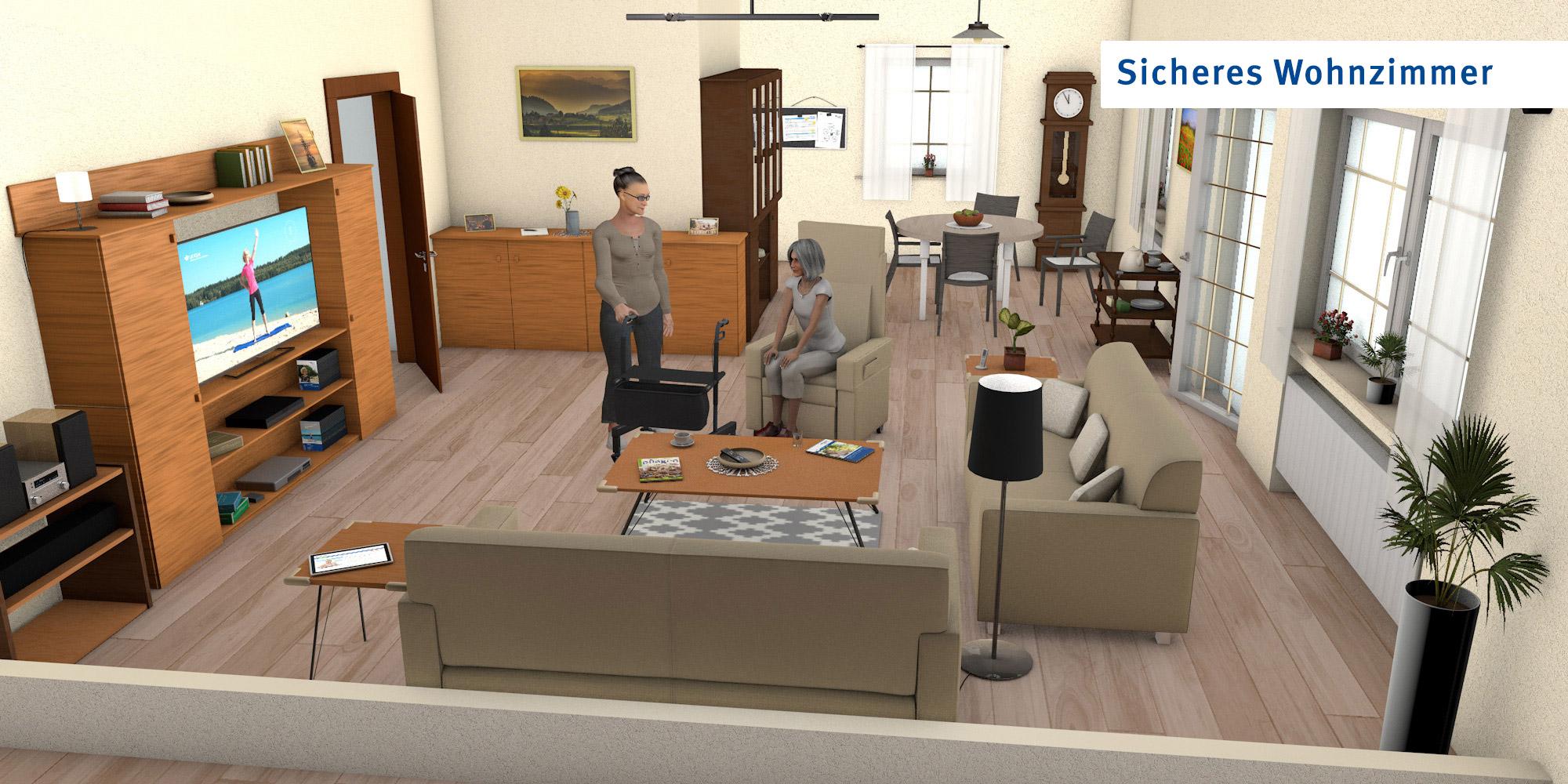 Wohnzimmer - optimierte Version